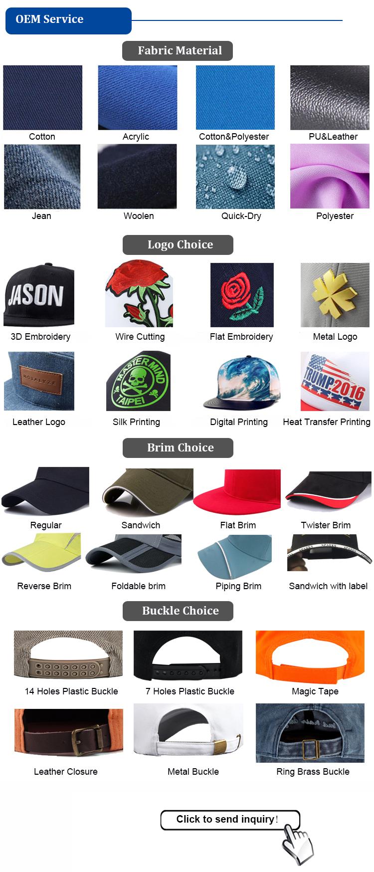 Custom 6 Panel Unconstructed Brushed Cotton Baseball Hats 54f39383162e